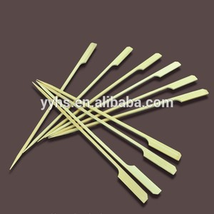 Buy Barbecue Tool Green Bamboo Skewer