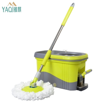 China hot sale household items Easily Dehydration pedal mop bucket trolley