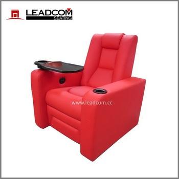 LEADCOM Leather Vip Sofa Home Cinema Chairs (LS 812)