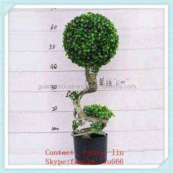 Lf090420 ornamenti da giardino pianta artificiale topiaria for Ornamenti giardino