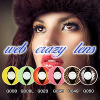 One Two or Three tones Color Cosplay Contact Lens Various Designs Colored Cat Crazy Contacts Lenses