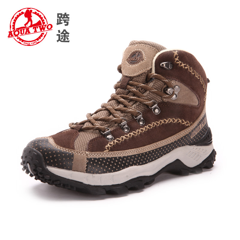2017 New Arrival Aquatwo Womens Waterproof High Cut Ankle Boots Hiking Shoes
