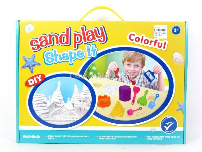 Educational moon sand toys, Colorful kids toys sand play with EN71 EA011813