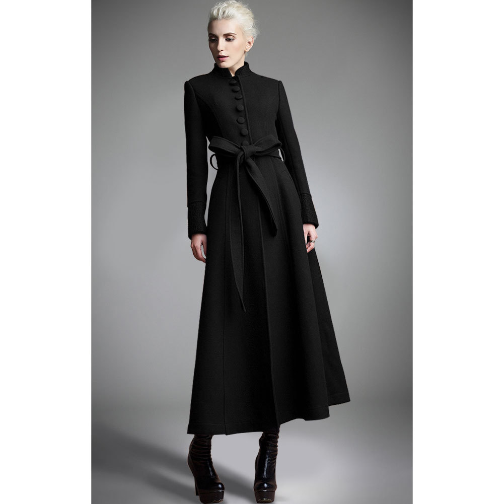 Manteau Long En Laine Femme Zara IEDH29