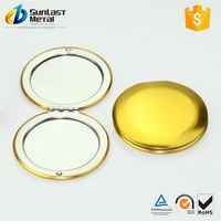 New selling unique design handheld double side mirror from China