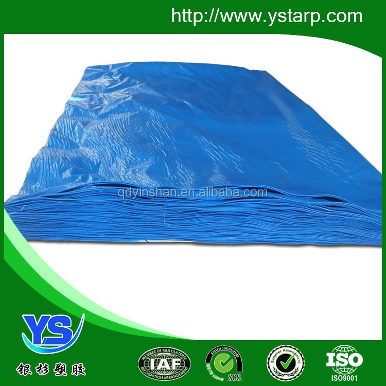 Korea pe fabric tarpaulin with Aluminium eyelets