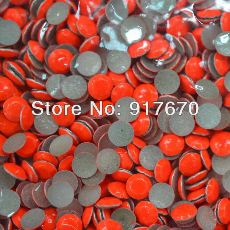 100% Quality Neon Iron on Octagon Transfer Wholesale hot fix rhinestuds