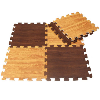 Anti Slip Bamboo Chair Mat For Hardwood