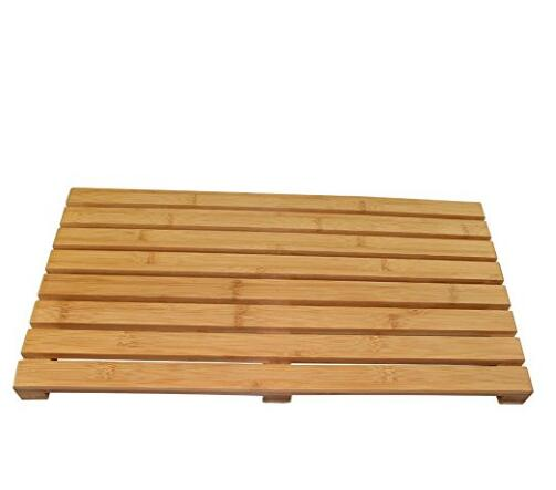 Bamboo Floor and Bath Mat