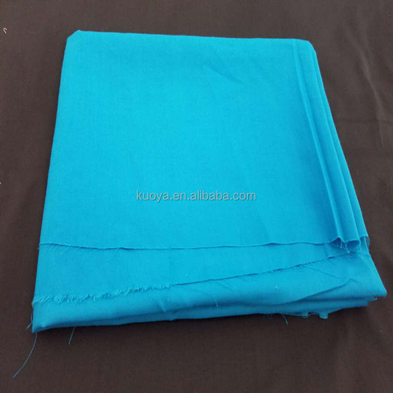 spun polyester cotton feel fabric