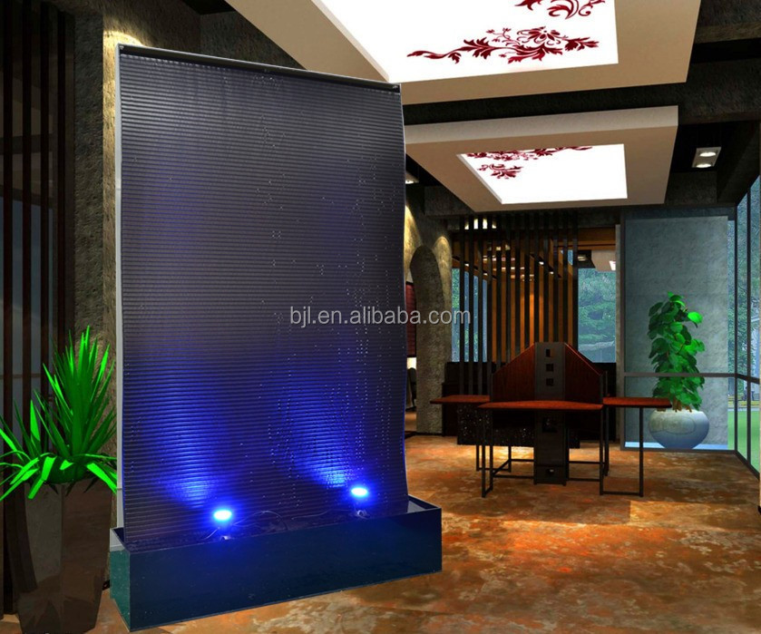 Water Wall Decor water wall decor laminated art glass water wall decor buy glass water wallart best pictures Chinese Led Large Advertisement Water Wall