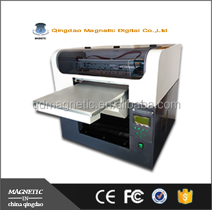 Qingdao Magnetic factory supply A3 Digital Textile Printer T-shirt Printing Machine DTG Printers for Sale
