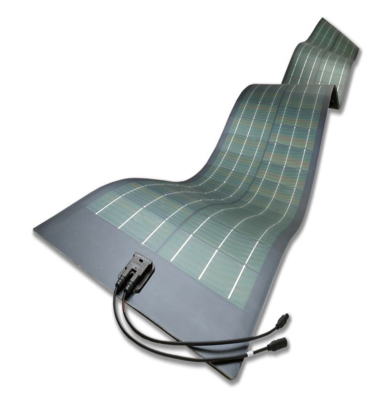 Hanergy flexible solar panel_200W for mobile homes with CIGS thin film technology