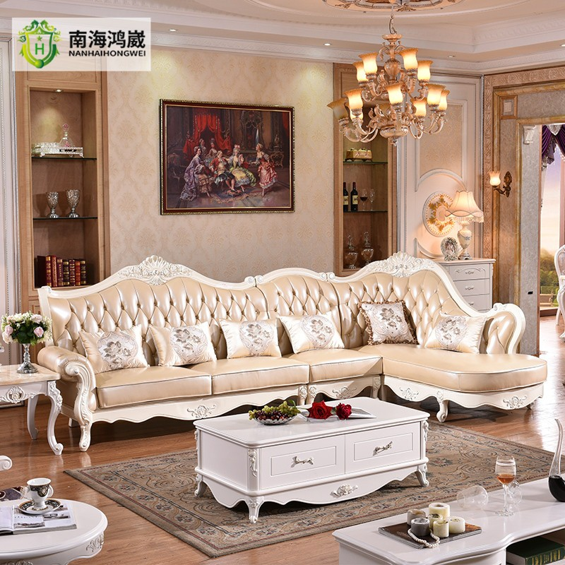 China Hot Selling Classic French Divan Living Room Furniture Sofa Designs  And Prices