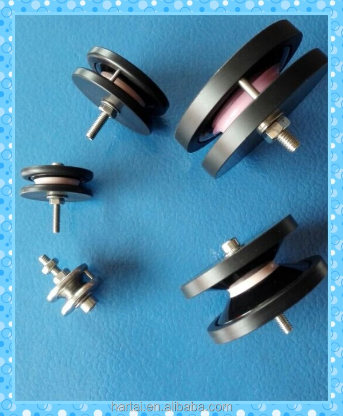 Small Plastic Pulley Combined With High Polishing Ceramic,Ceramic ...