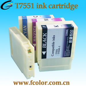 New Arrival T7551 Empty Refill Ink Cartridge for WorkForce Pro WF-8010DW 8090DW 8510DWF 8590 DTWFC