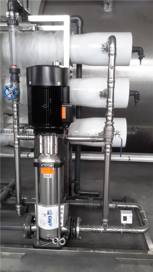 Hot selling 6000 liter per hour antiscalant  reverse osmosis water treatment system