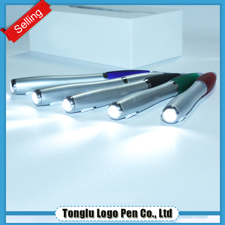 new model ball cute ballpoint magnetic pen light
