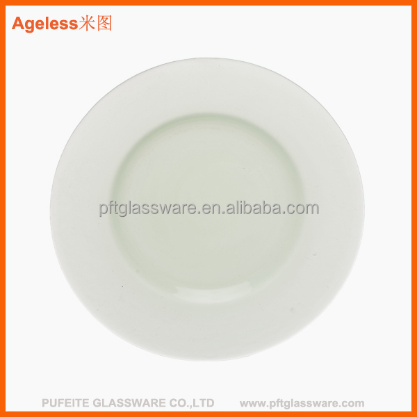 clear round flat glass dinner plates  sc 1 st  Alibaba & China Glass Dinner Flat Plate Wholesale ?? - Alibaba