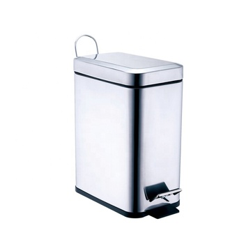3 Bin Trash Can Small Kitchen Trash Can 3 Mini Stainless Steel