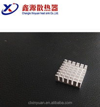 Spare parts new products extruded aluminum heat sink bar profile