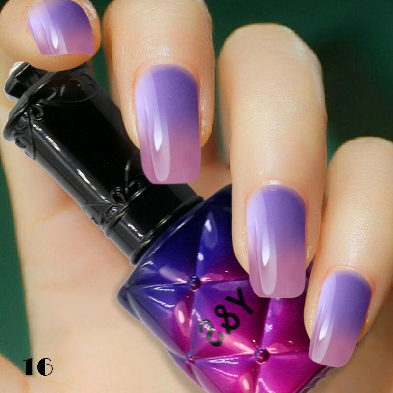 Aliexpress Com Buy Y Amp S Nail Gel Polish Top Fashion Temperature Color Changing Gel Nail Soke