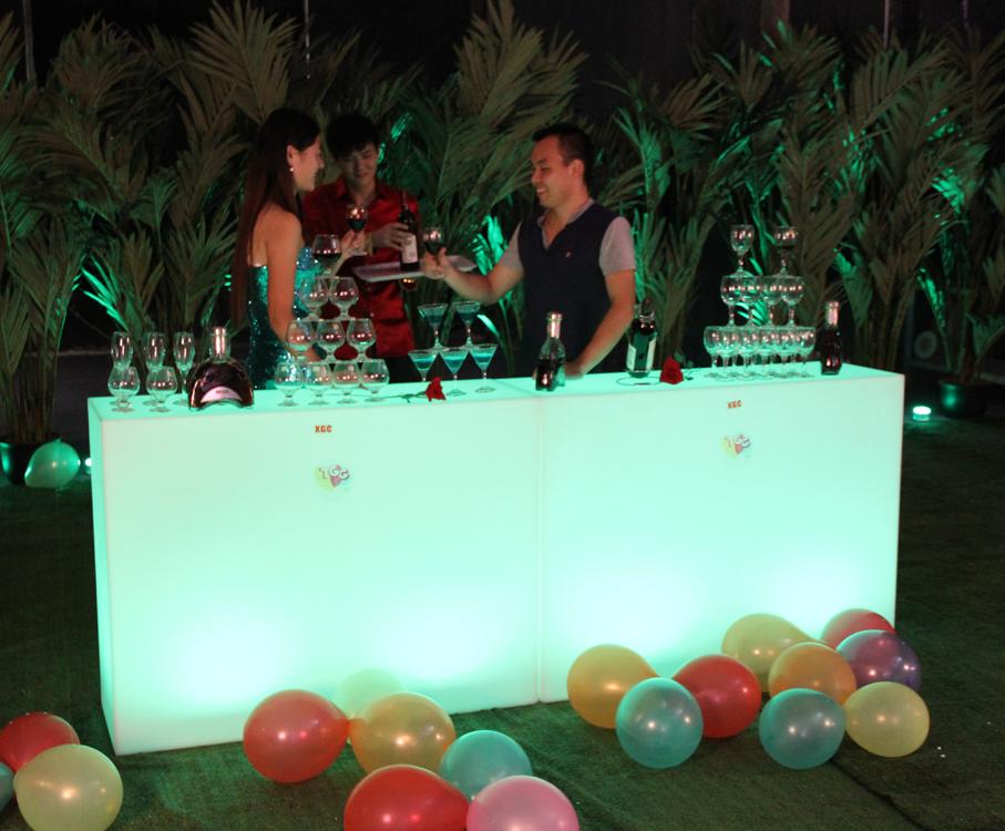 Commercial High Top Bar Tables / Portable Bar / Long ...