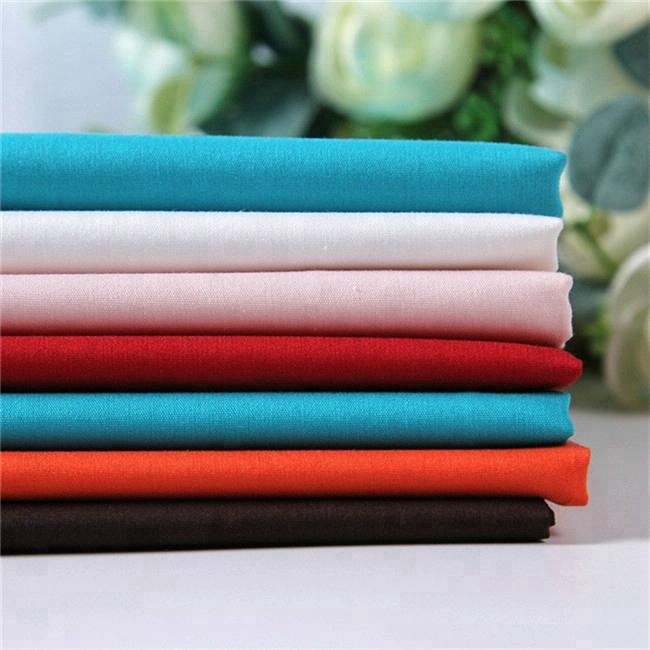 top sell 65% recycle polyester 35% cotton fabric price per meter pocketing lining fabric
