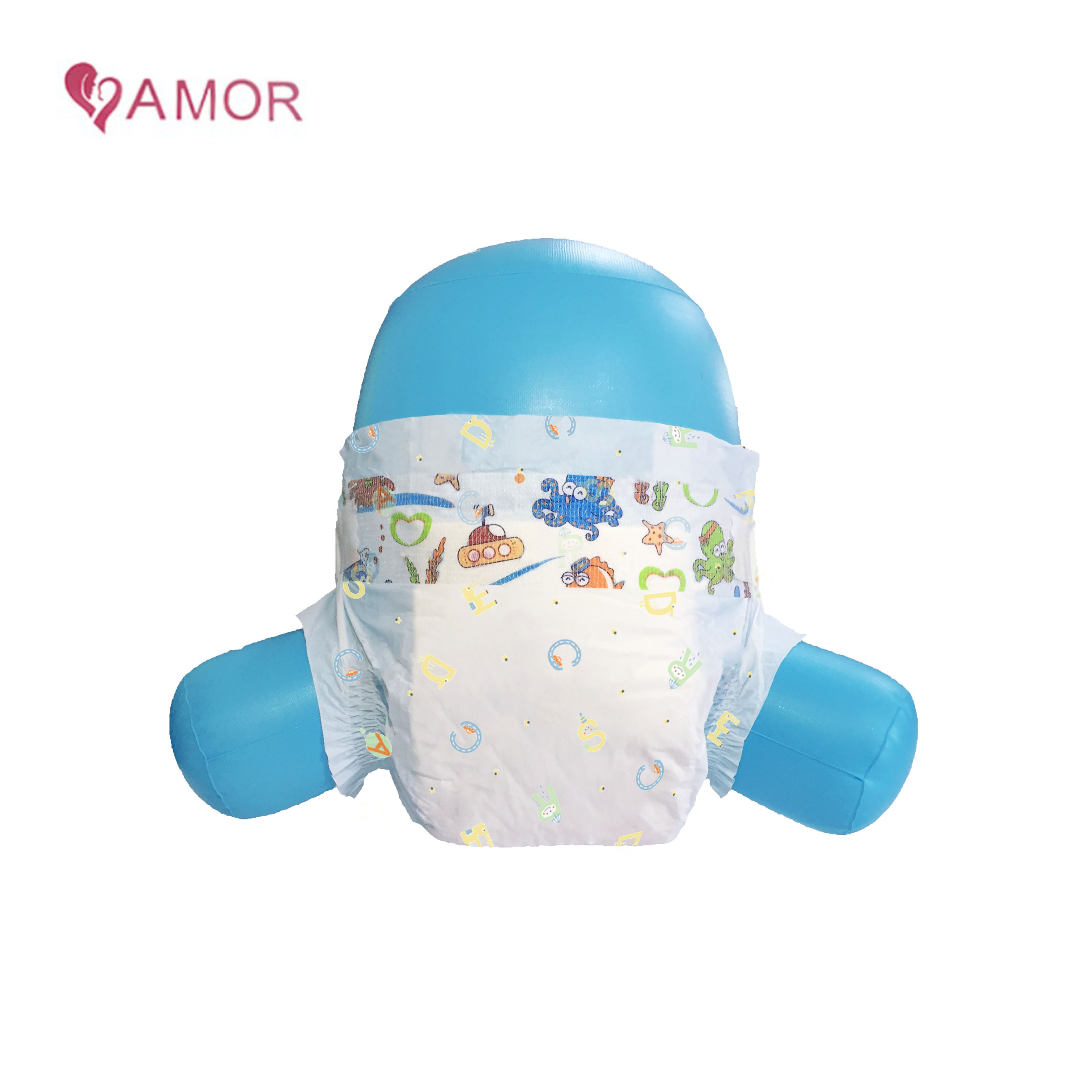 Private label disposable baby softcare diaper for Kenya