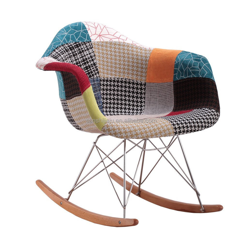 big sale 00baf 43307 2017 Wholesale Adult Virginia House Rocking Chair/ Tub Patchwork Armchair  Fabric - Buy Wholesale Audlt Virginia House Rocking Arm Chair Patchwork ...