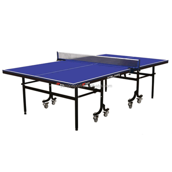 Folded Portable Table Tennis Table Standard Size Table Tennis Table