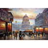 Handmade wall decor Paris cityscape oil painting