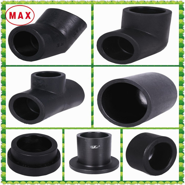 Hdpe fittings for water supply sdr pe tube