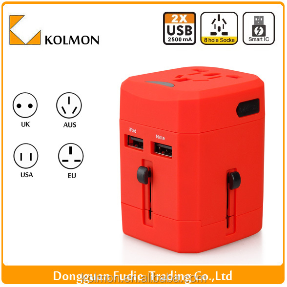 Universal global 12v travel electric adapter