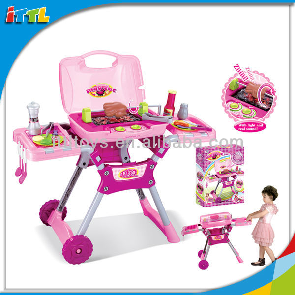 A390438 Bbq Play Set Barbecue Toy