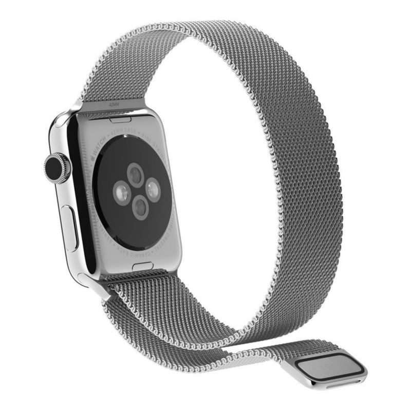 Stainless Steel Strap Strong magnet lock Watch Band for Apple Watch iwatch 38mm/42mm