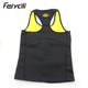 Sports waist trainer body shaper plus size neoprene slimming vest