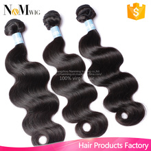 6A unprocessed body wave indian virgin hair natural black remy hair 2pcs/lot Unprocessed human hair