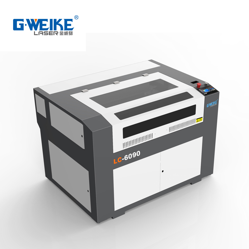 Gweike co2 laser machine 6090 for cutting plywood with Hepa air fliter