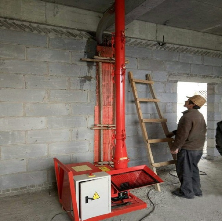 Small fine stone mortar secondary structure concrete pump