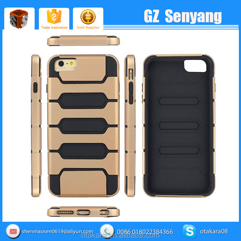 Low Price China Mobile Phone Accessories for iphone 6s Hybrid Case