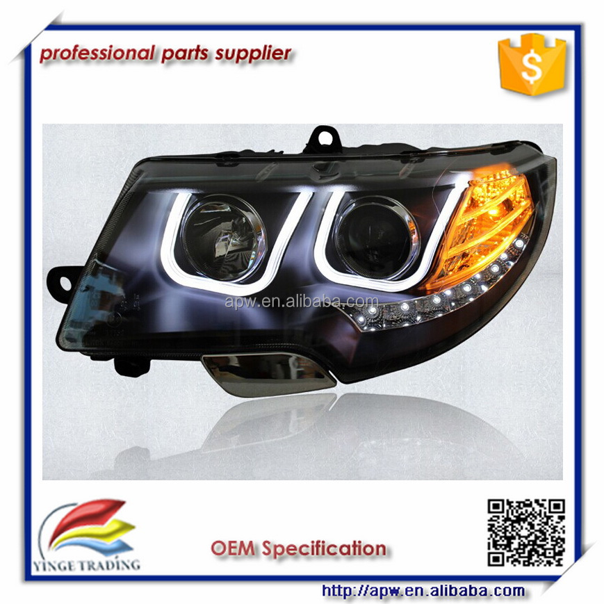U Style Led Auto Light Skoda SuperB 09-13 LED Headlight