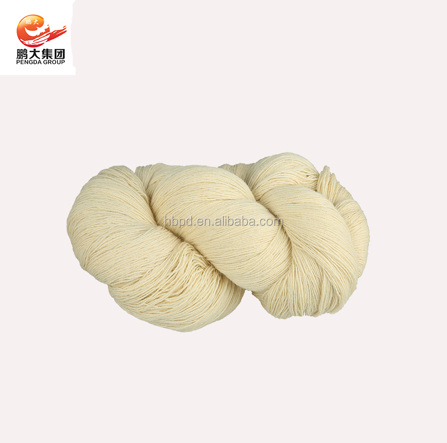 100 Wool Carpet Yarn Nm16 3 Ply For Hand Knitting Rug Made In China 3ply