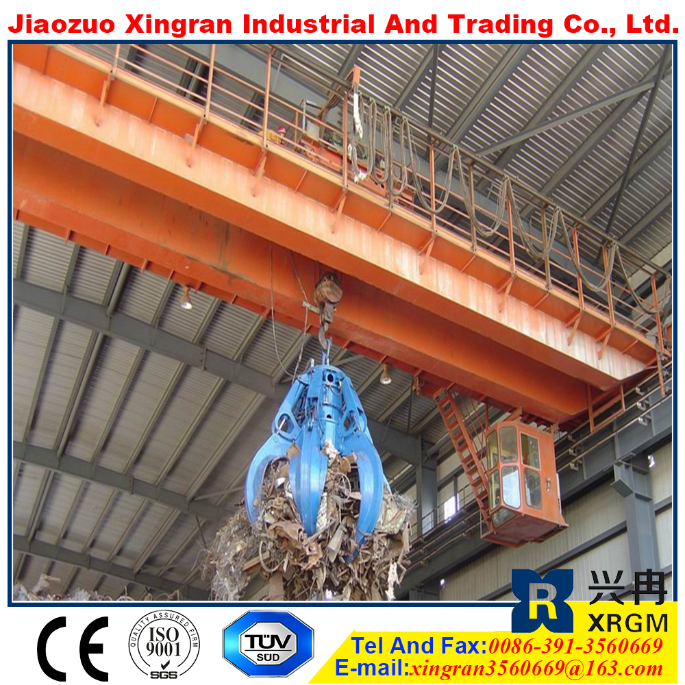 25t overhead crane with electric winch electrical workshop equipment trusseed type bridge launching crane
