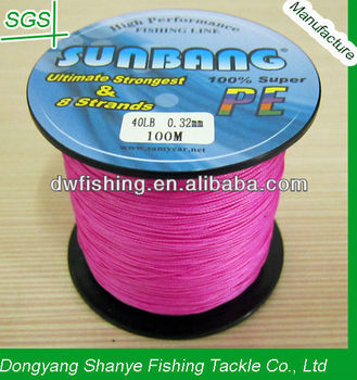 40lb pink for sea fishing the braided fishing line for Pink braided fishing line