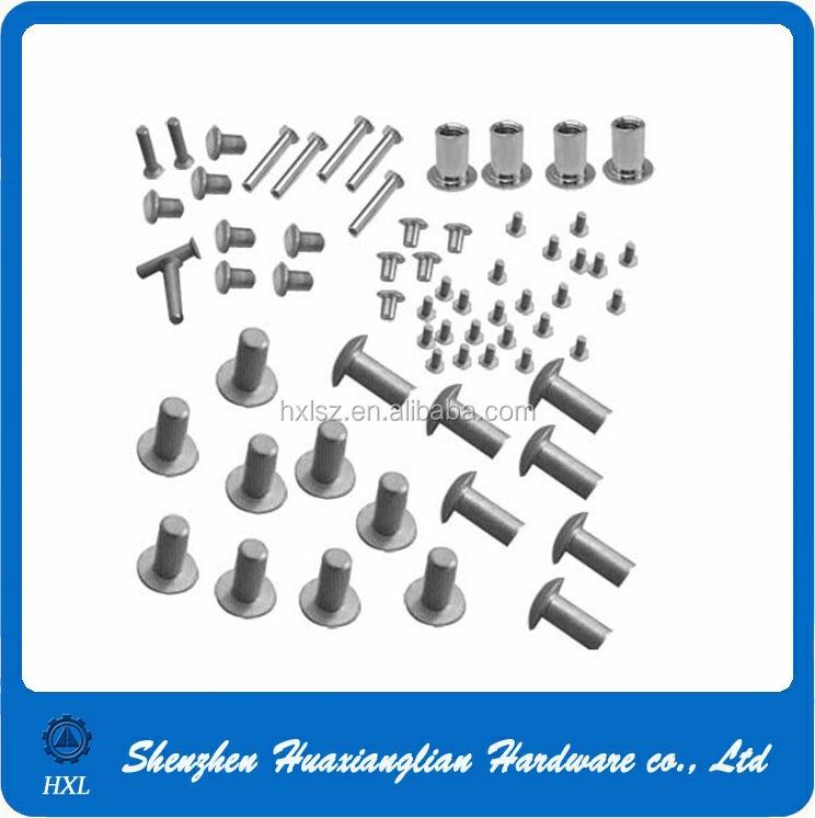 Manufacturer supply 2mm 3mm 4mm 6mm aluminum solid boat rivet