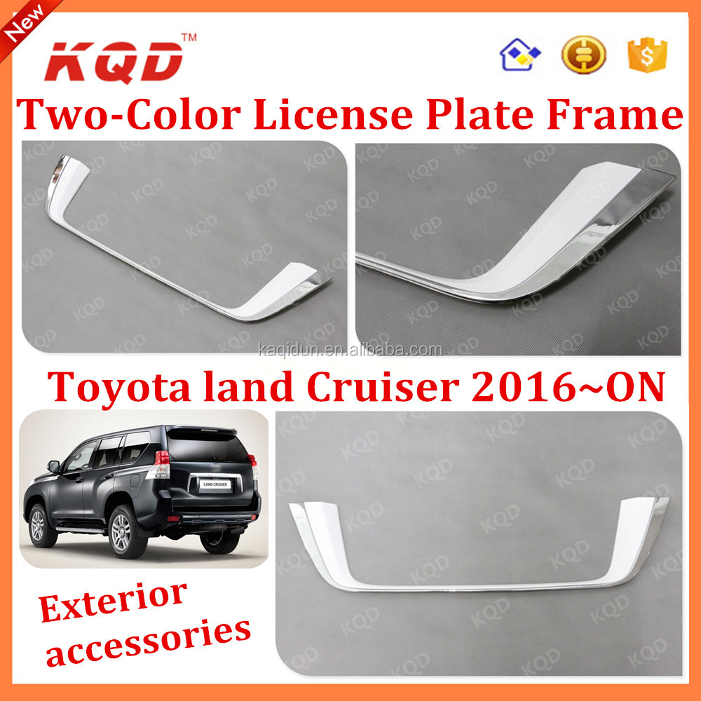 toyota land cruiser accessories license plate frame for land cruiser fj200 land cruiser license plate frame buy toyota land cruiser accessoriesland