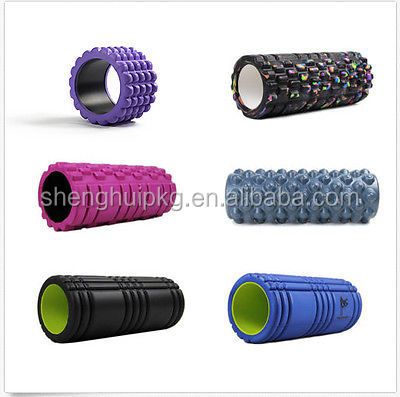 wholesale basketball point yoga foam roller massage fitness in different colors