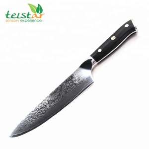 8 inch Chef Knife Japanese Steel 67 Layer damascus steel knife blanks