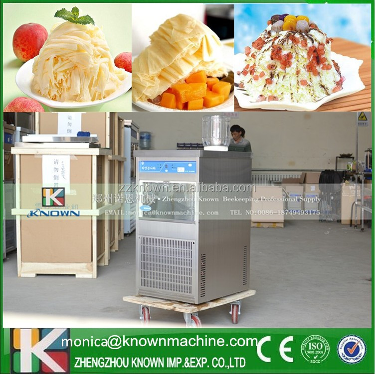 Electric Ice Snow Cone Maker Shaved/Milk Crusher Shaver Machine